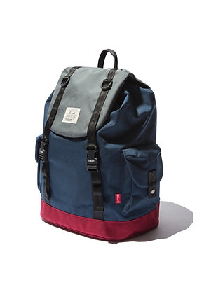 The Earth - Brick Rucksack - Navy