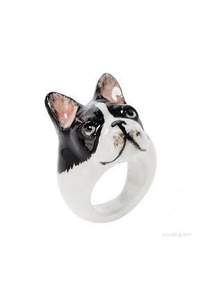 NACH BIJOUX - French Bulldog Ring