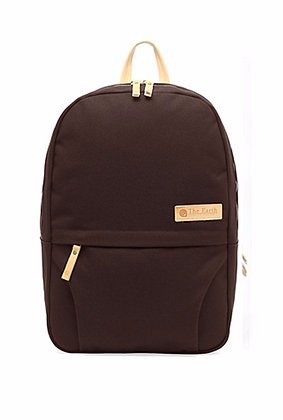 The Earth - CANVAS DAYPACK - Brown