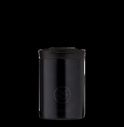 24BOTTLES - Travel Tumbler 350ml - Tuxedo Black