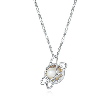 DREAMNICKER - Undefined Planet Necklace (Silver)