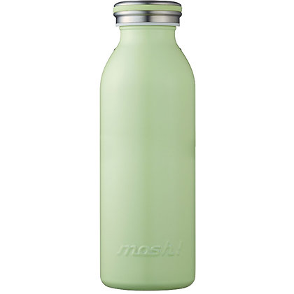 MOSH - Stainless Steel Bottle 450ml - Green