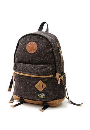 Filter017 Wool Blend Outdoor Backpack -Deep brown