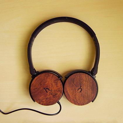 hoomia U3 經典木質摺疊耳機 (黑)