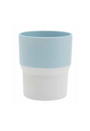1616 Mug, light blue & white