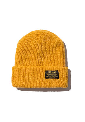 The Earth - OG BEANIE - MUSTARD