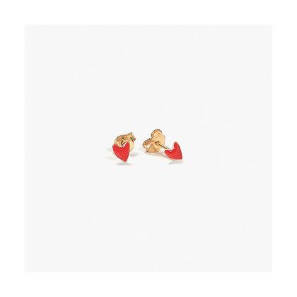 Titlee - Grant Earrings - Red