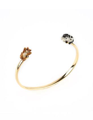 NACH BIJOUX - Mini Cat Face to Face Bracelet D149