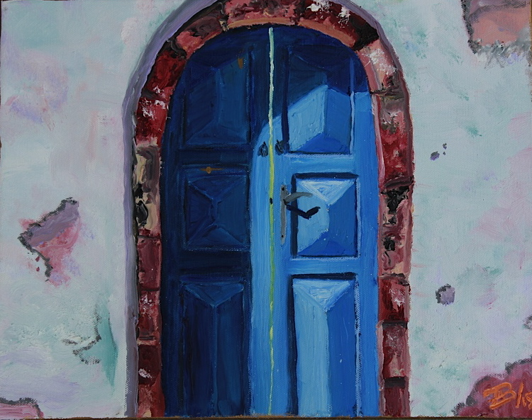 Dark Blue Door: SOLD