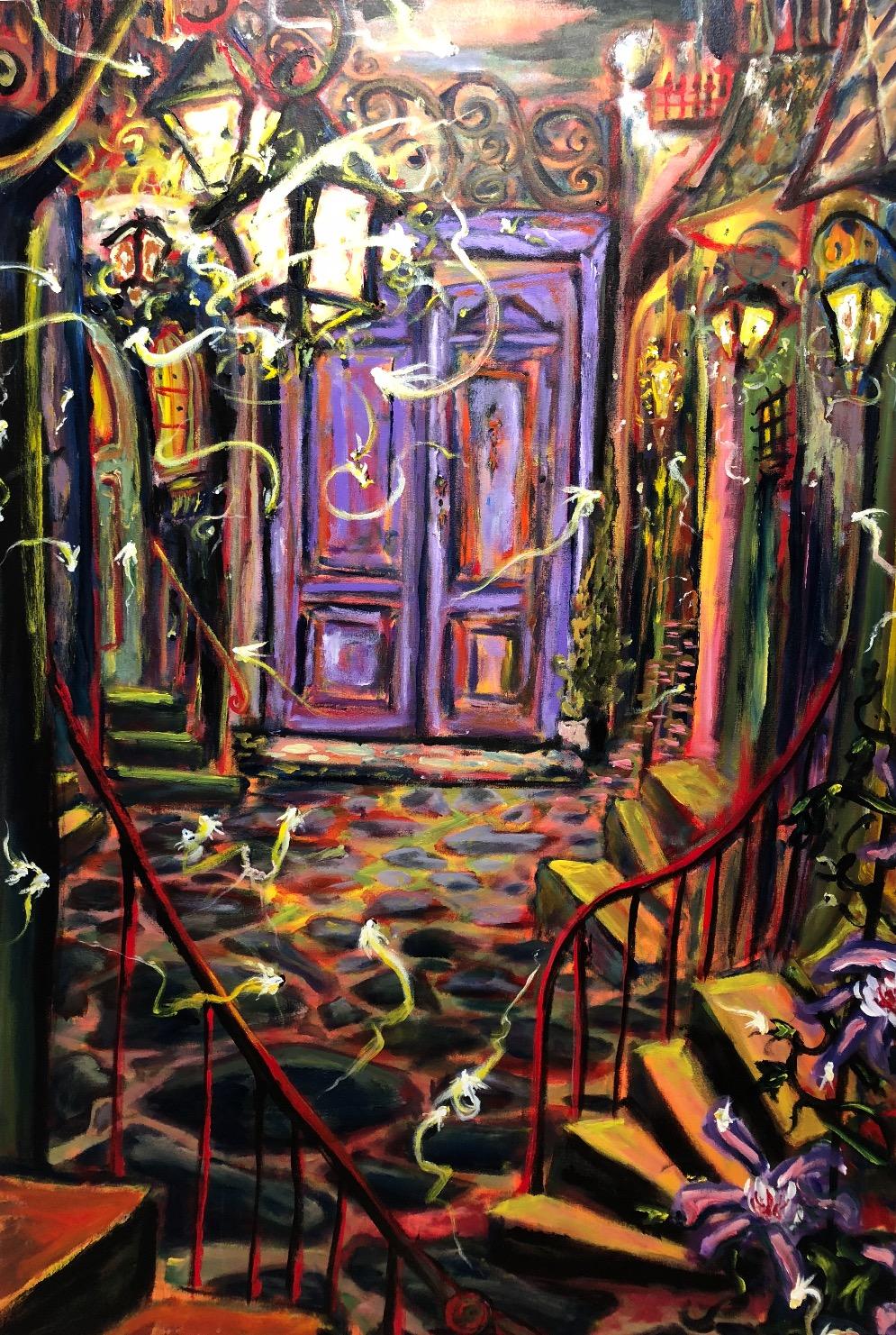 Behind the Purple Door