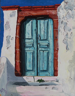 Light Blue Door: SOLD