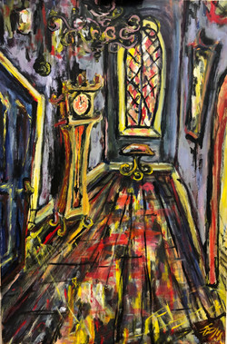 The Stained Glass Hallway: SOLD