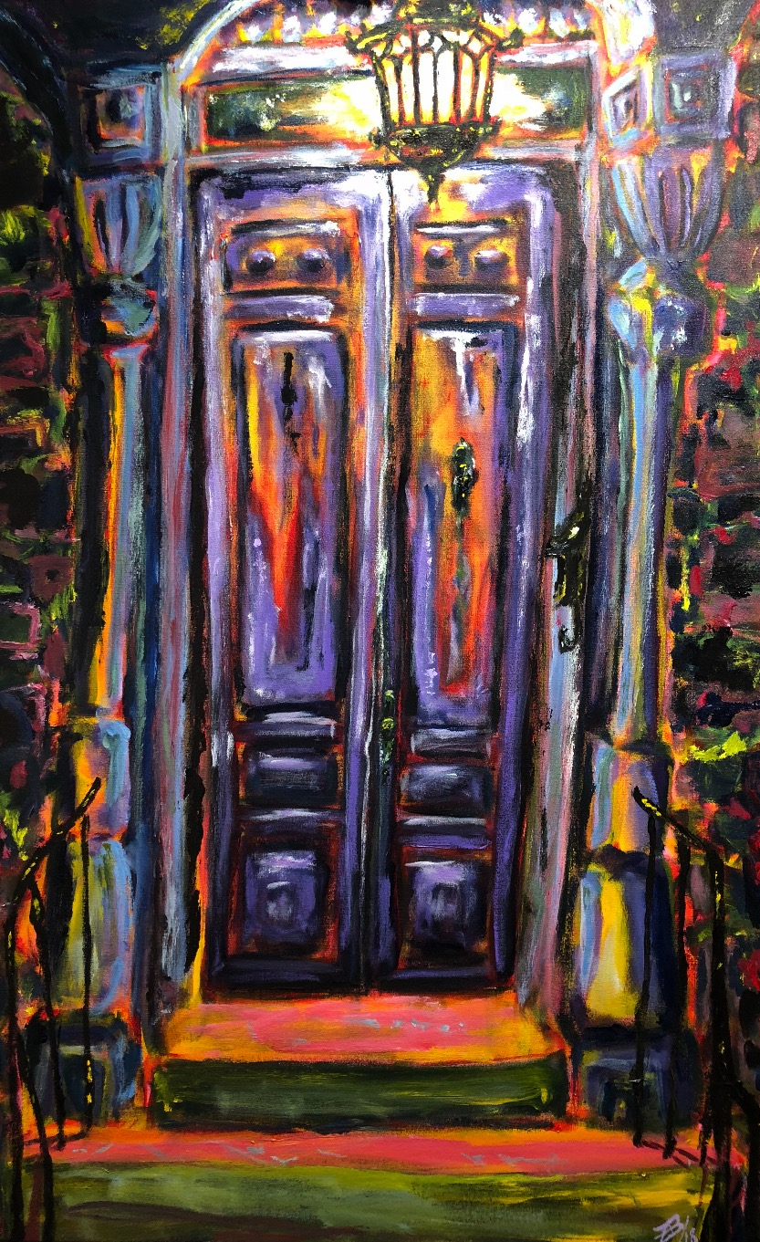 The Purple Door: SOLD