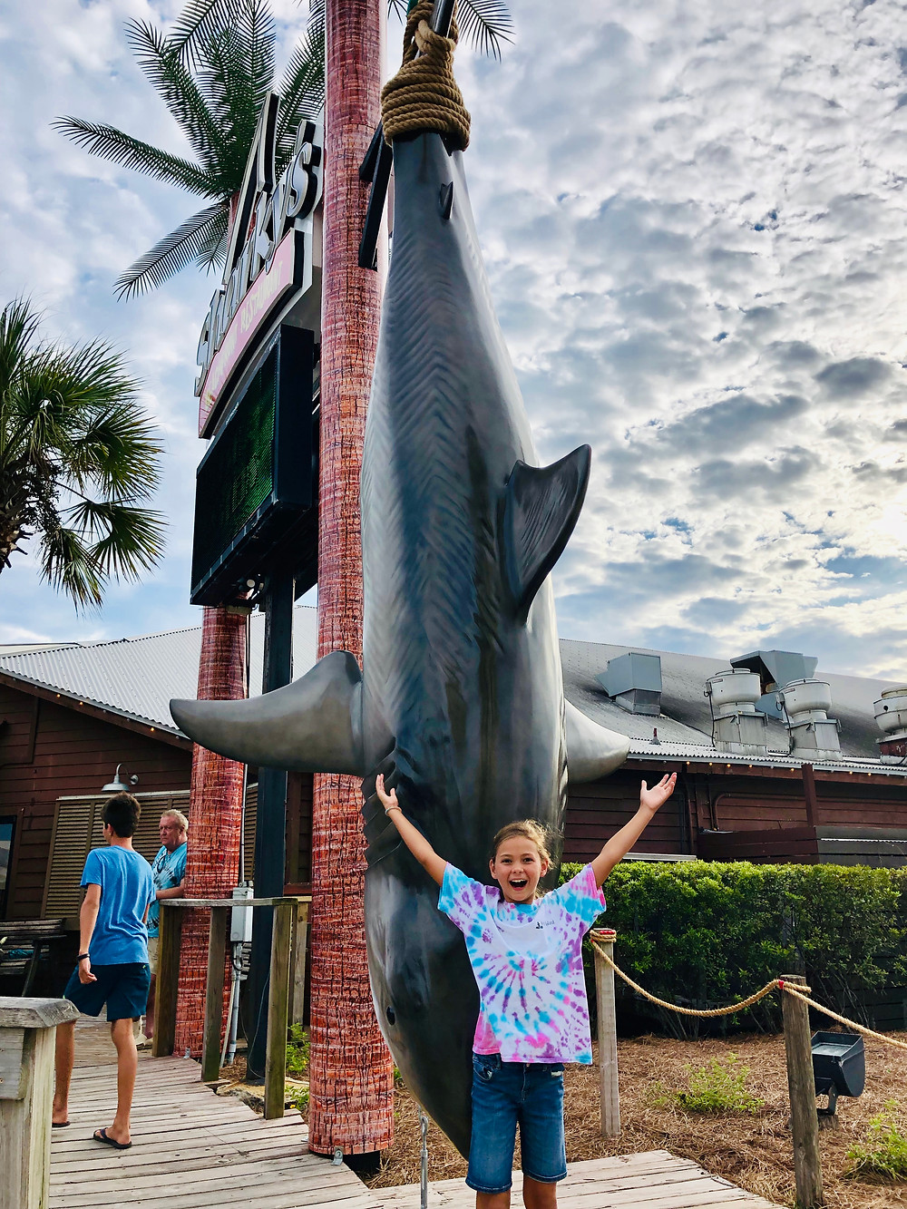 Sharky's restaurant, Panama City Beach, Florida