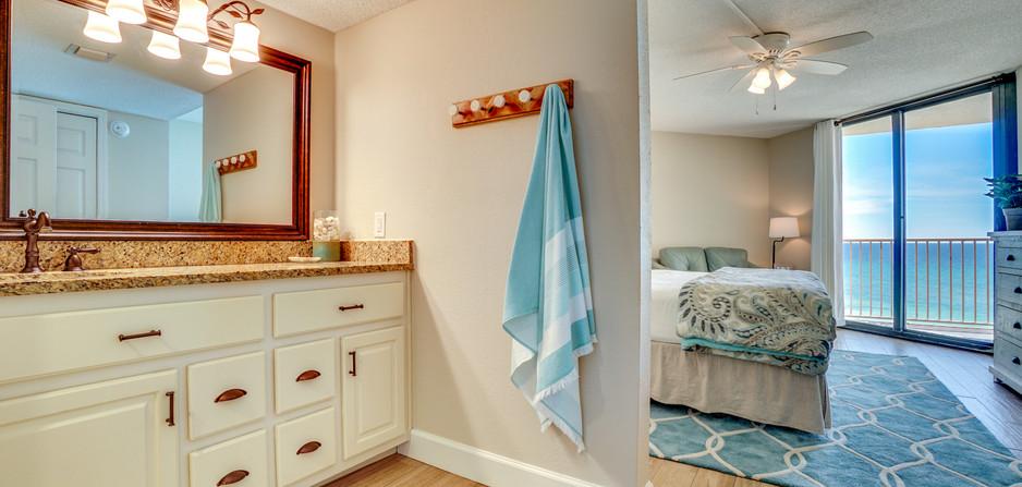 Master Bath and Bedroom