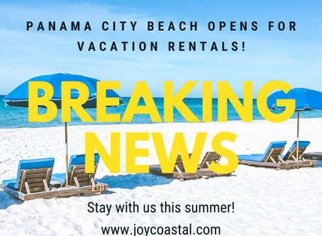 Panama City Beach is Open!  Now What?