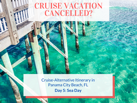 Cruise Alternative Itinerary: Day 5 - Sea Day