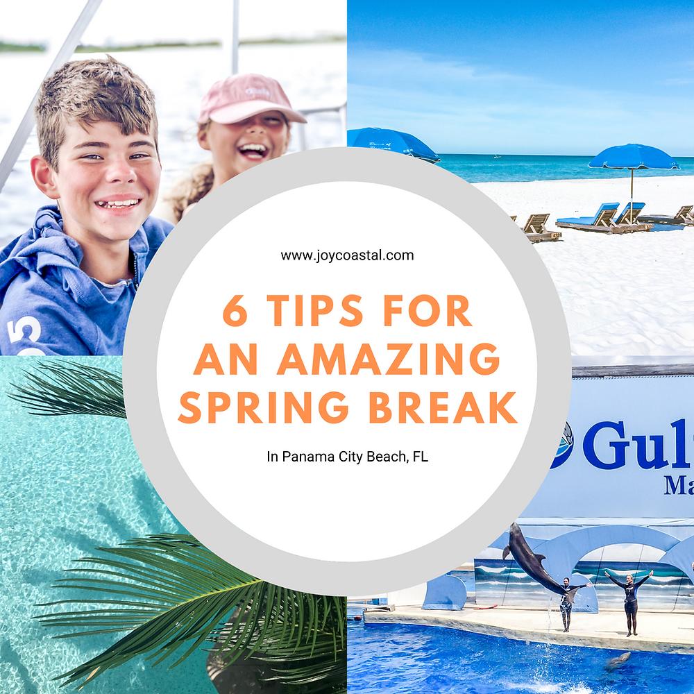 Tips for Spring Break Family Trips in Panama City Beach, Florida