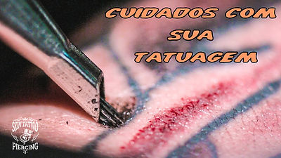 Cuidados com sua tatuagem