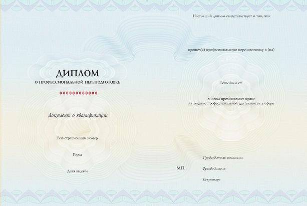 Диплом о профессиональной переподготовке второе высшее образование АПП ЮФУ
