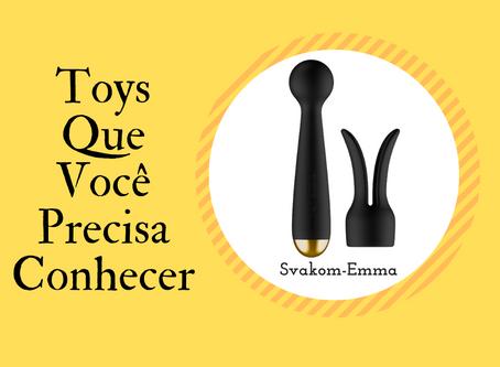 Svakom Emma - Vibrador wand com controle por aplicativo