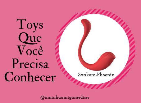 Svakom Phoenix - Vibrador clitoriano com controle por aplicativo