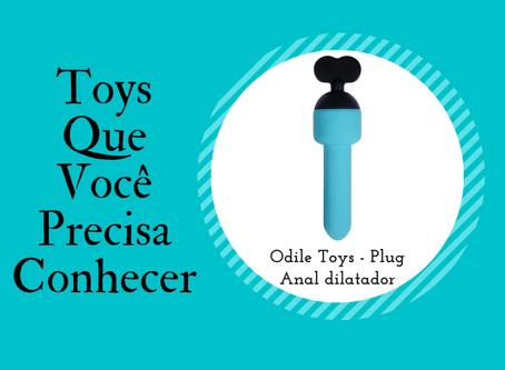 Odile Toys - Plug Anal Dilatador