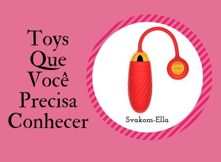 Svakom Ella - Vibrador clitoriano com controle por aplicativo