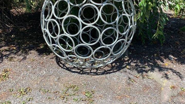 1 Metre Galvanised Ball