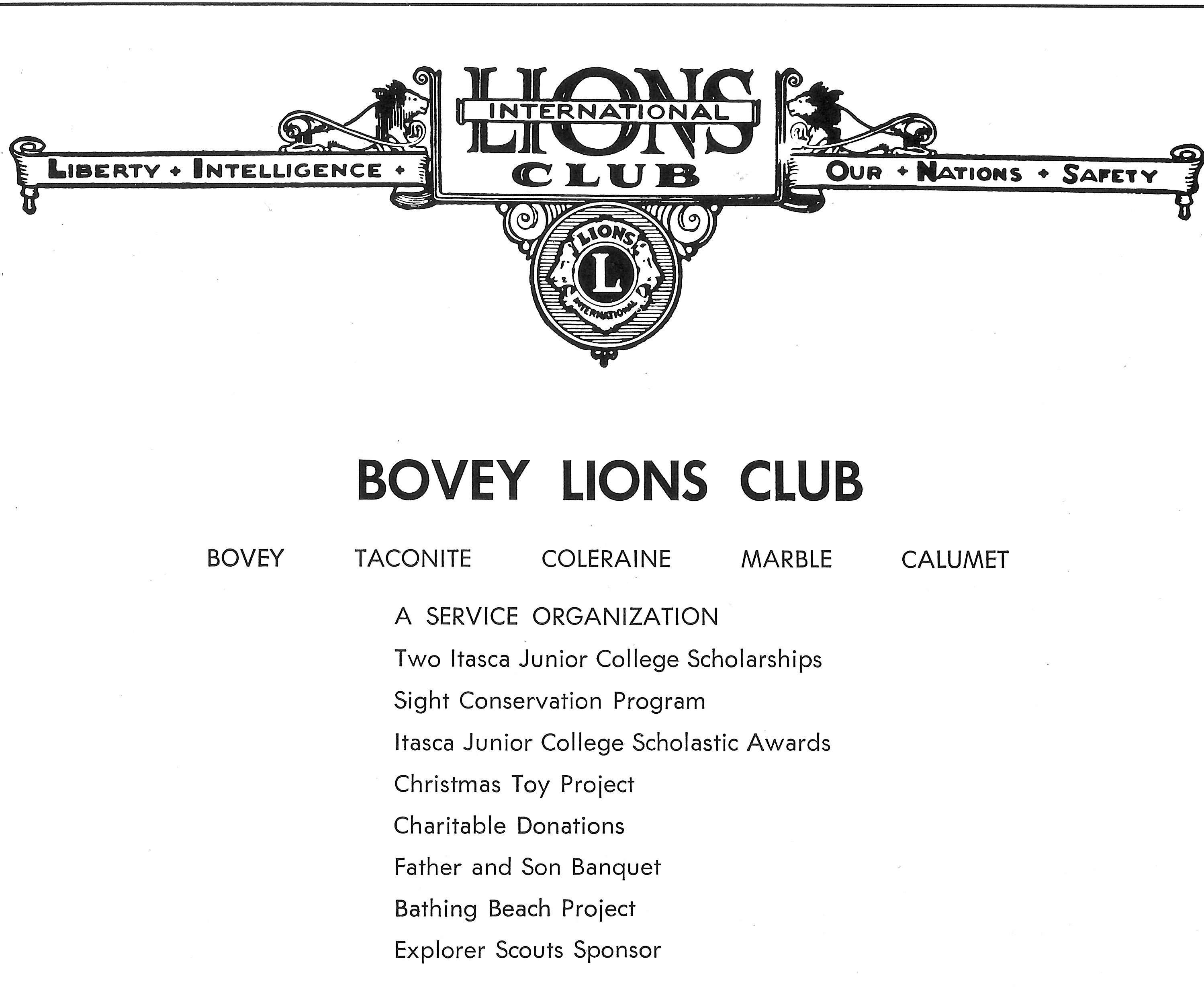 Lion's Letterhead