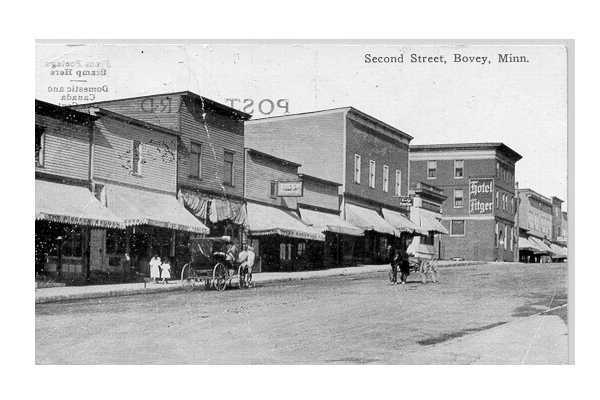 Bovey Postcard 1914