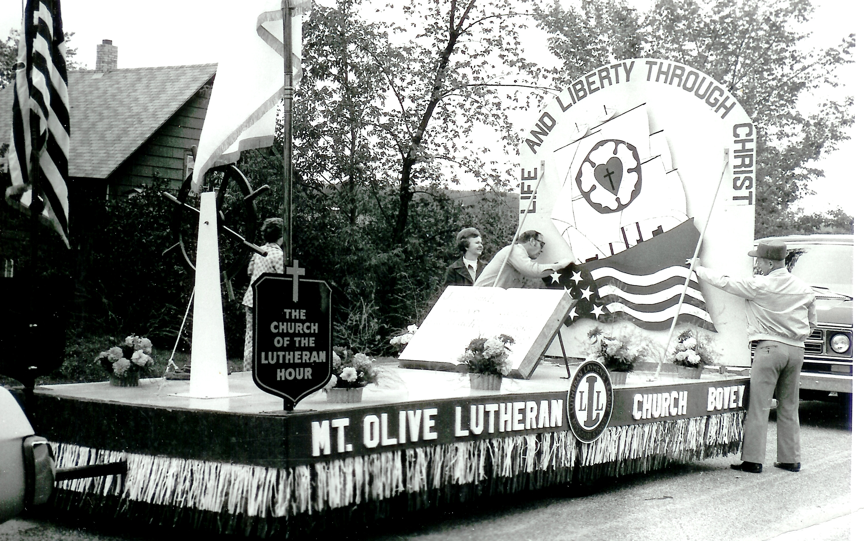 Mt. Olive Float