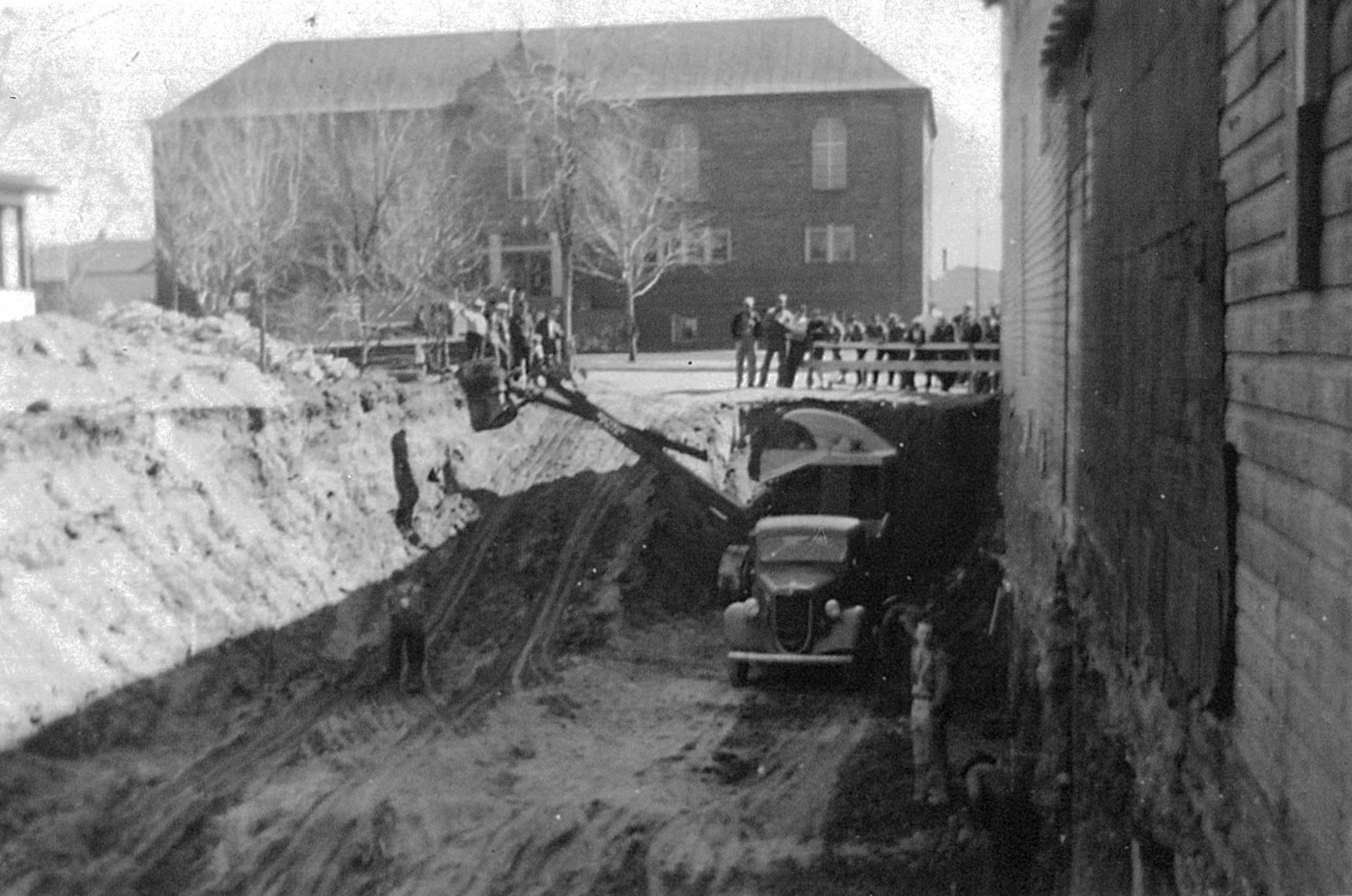 Merc basement 1939