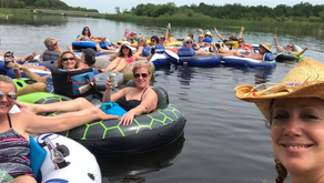 The Soggy Bottoms Gals River Float