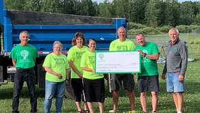 Greenway Area Community Fund awarded $1,000 for Cloverdale Park