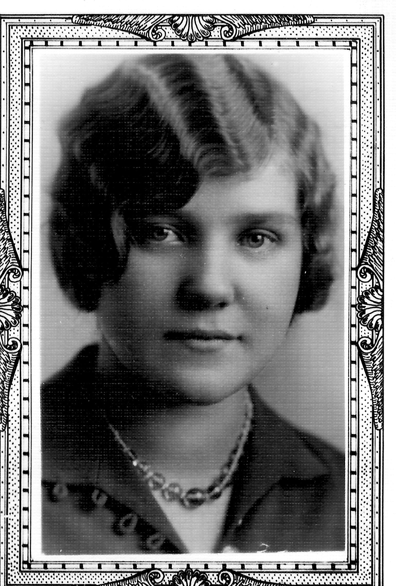 Anna Nix 1929