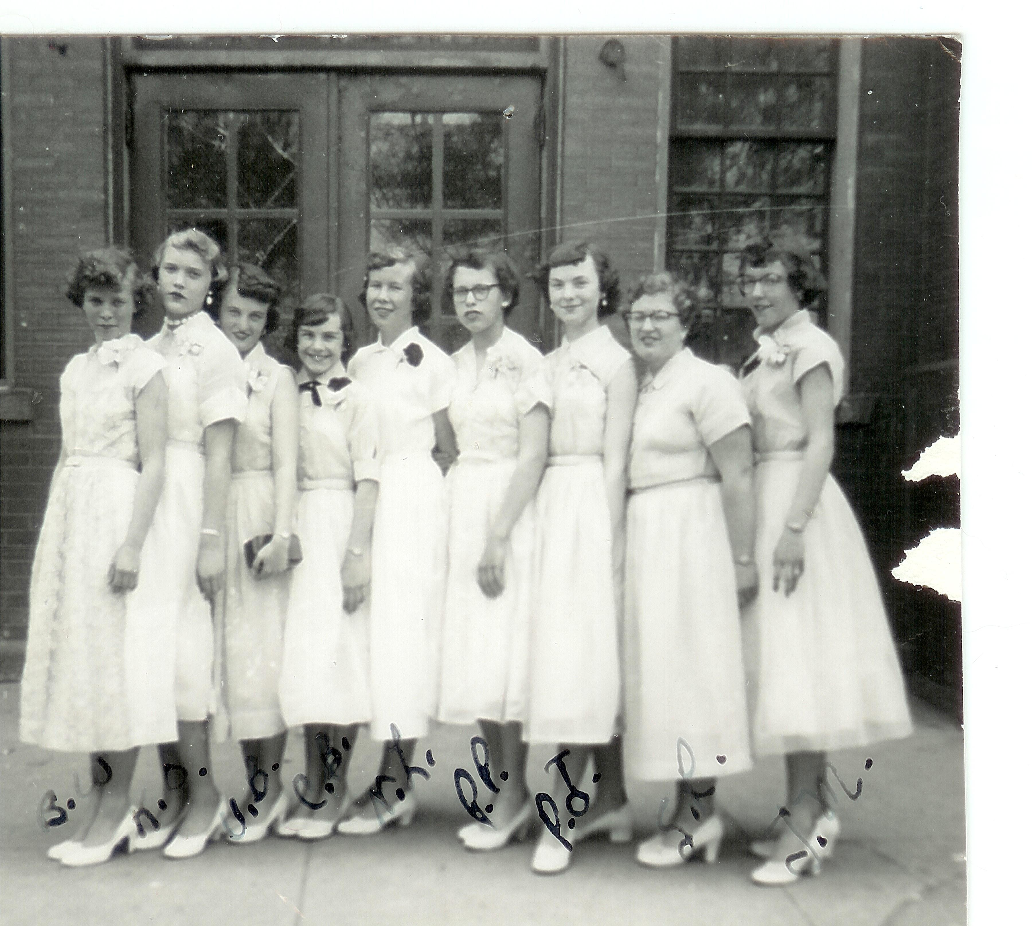 1954 graduation
