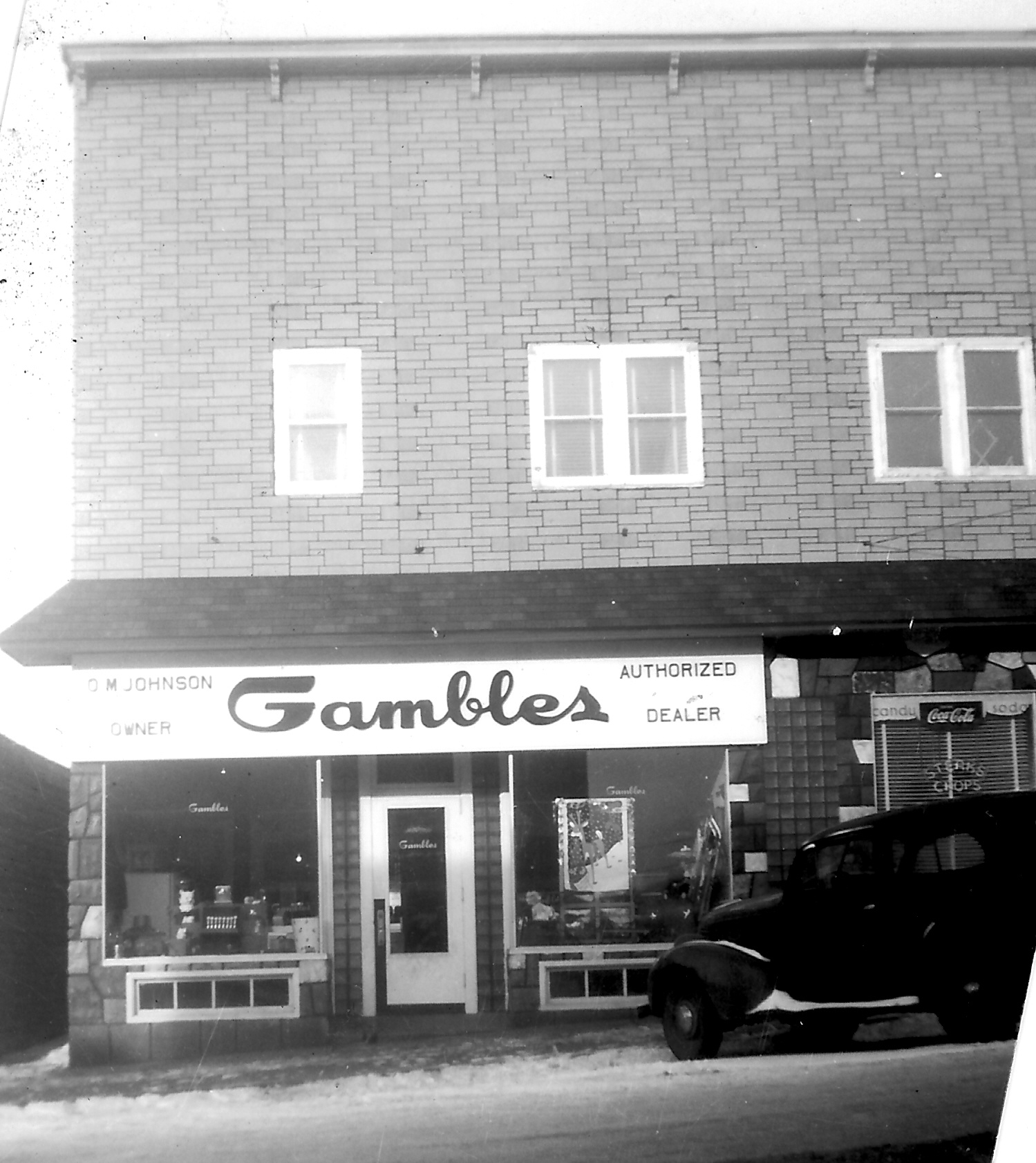 Gamble Store Late 40's