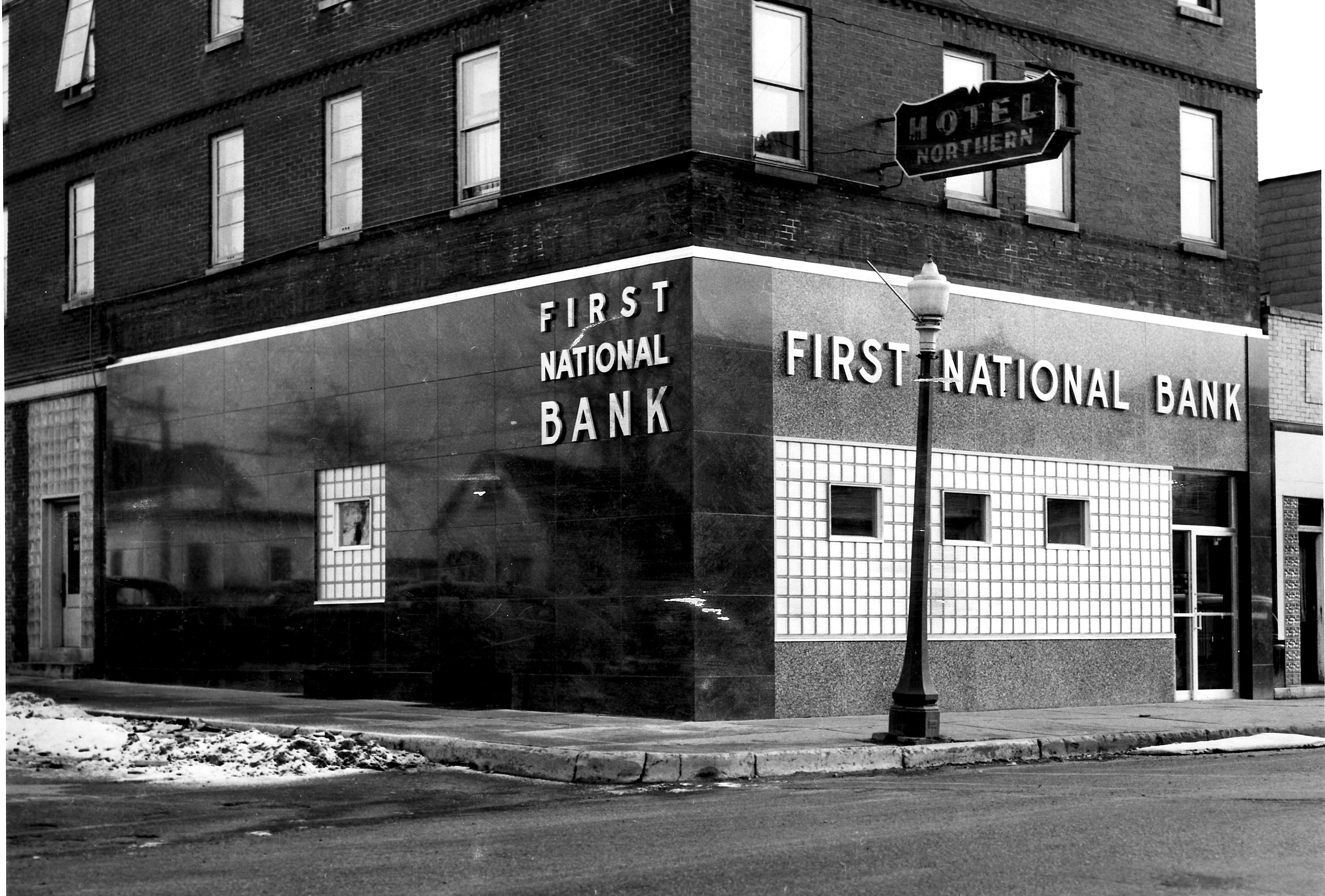 1954 Bank remodeled
