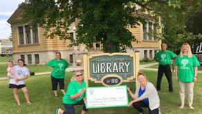 Greenway Area Community Fund awarded $1,000 to the Coleraine Library