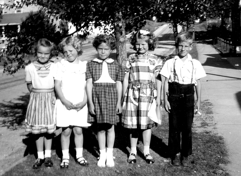 School Kids around1951