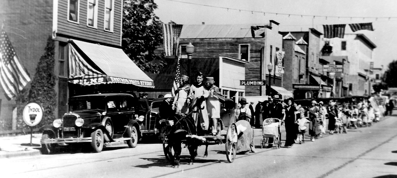 Parade at Enstroms