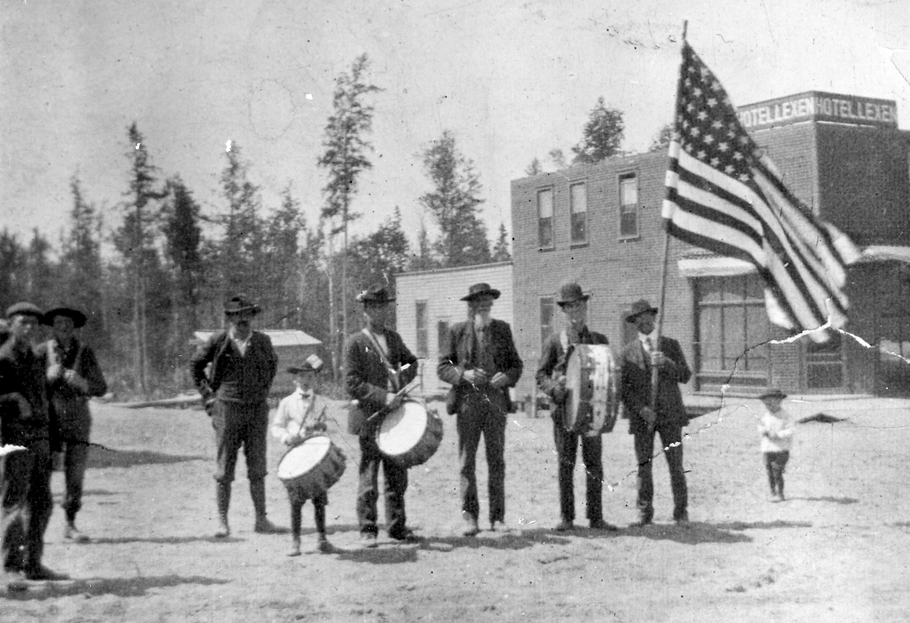 Band  1905 Lexen Hotel