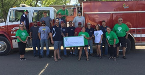 Greenway Area Community Fund grants $2,000 to Taconite Fire Department
