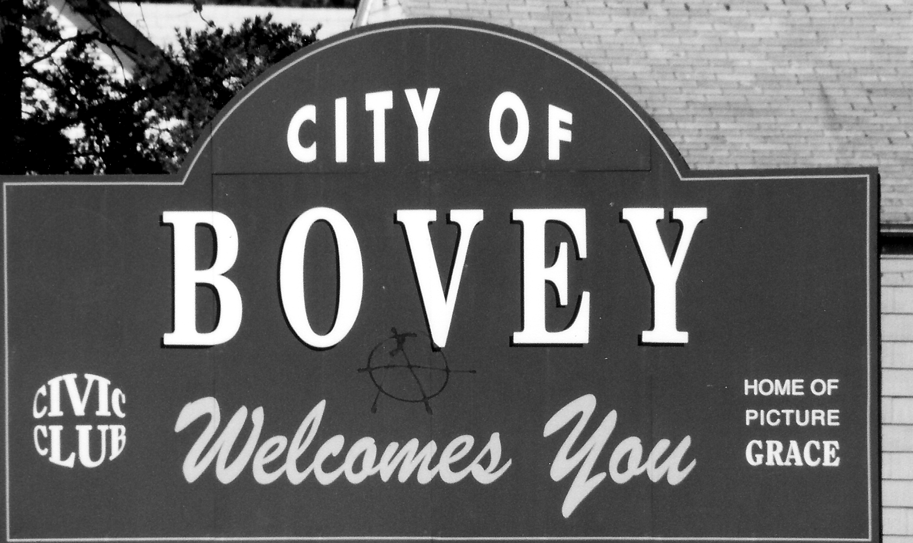 Bovey Sign