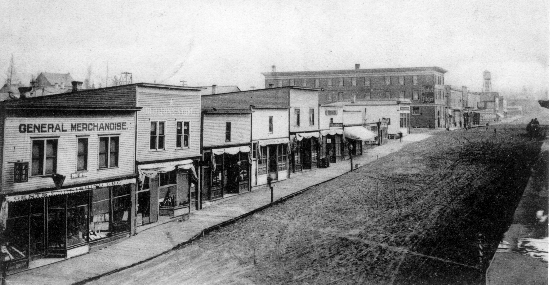 Main Street Sept. 4, 1909