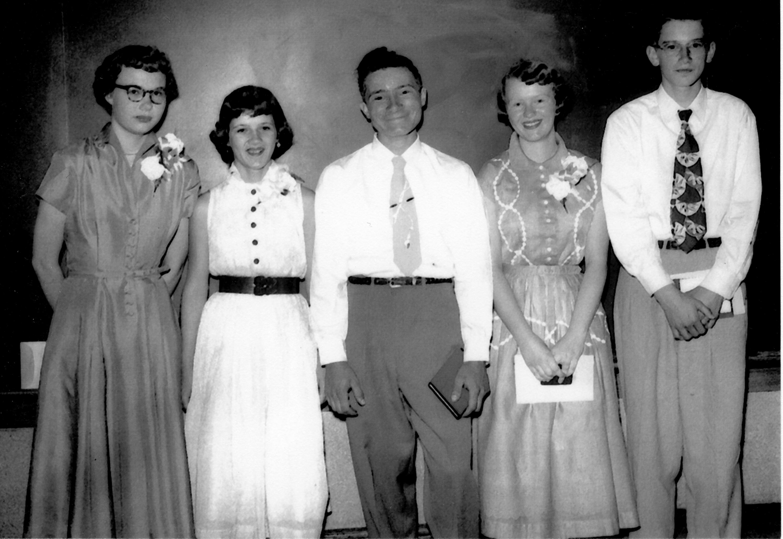 Martha, Myrna, Bob, Penny, Grant