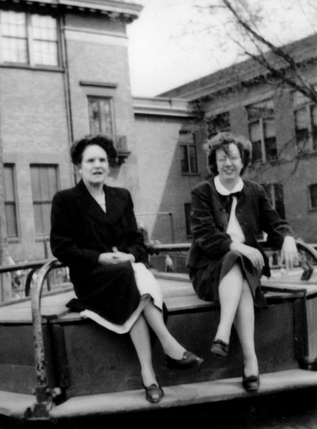 Teachers Beryl Ellian & Lois Loberg