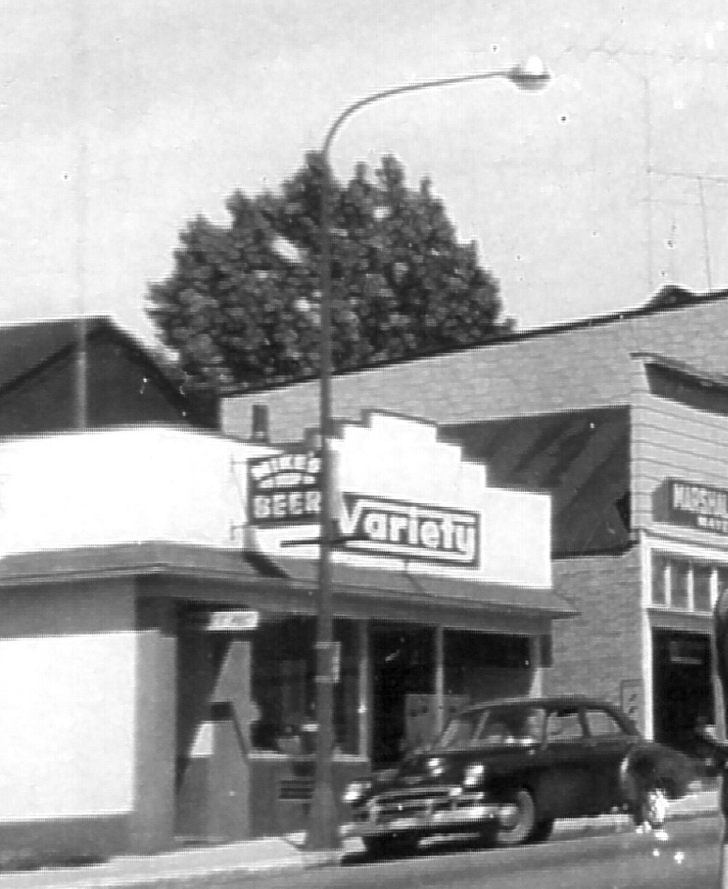 Variety Store June 1957