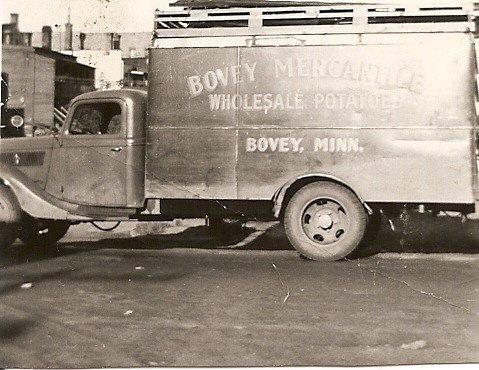 Mercantile truck